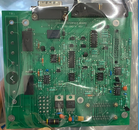 0100-09214 PCB ASSEMBLY, CHAMBER INTERFACE BOARD